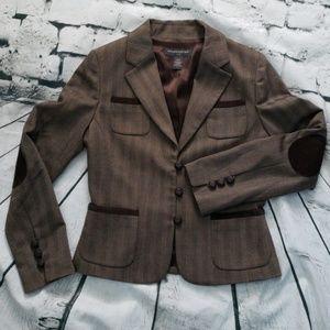 BANANA REPUBLIC texture look blazer sz 6